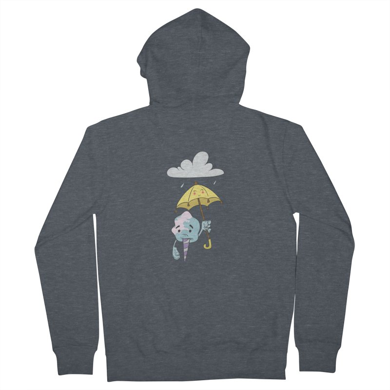 Rainy Day Cotton Candy Men's French Terry Zip-Up Hoody by Coconut Justice's Artist Shop