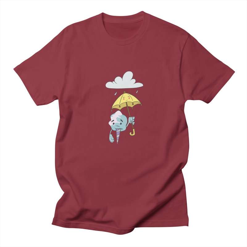 Rainy Day Cotton Candy Men's T-Shirt by Coconut Justice's Artist Shop