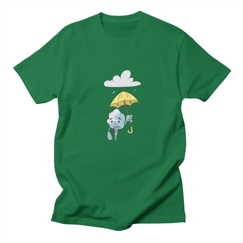 Rainy Day Cotton Candy Men's Regular T-Shirt by Coconut Justice's Artist Shop