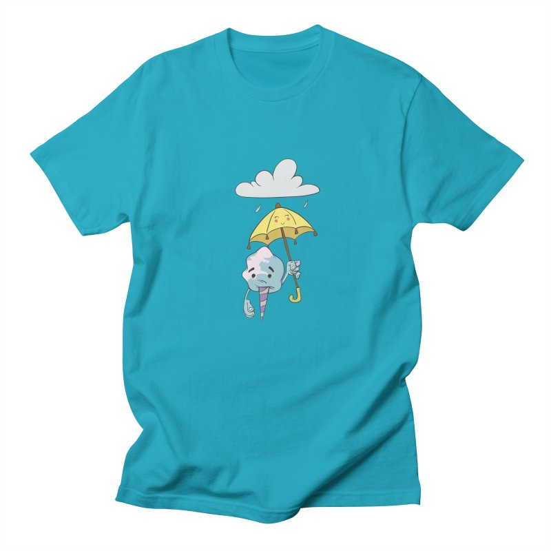 Rainy Day Cotton Candy Women's Regular Unisex T-Shirt by Coconut Justice's Artist Shop