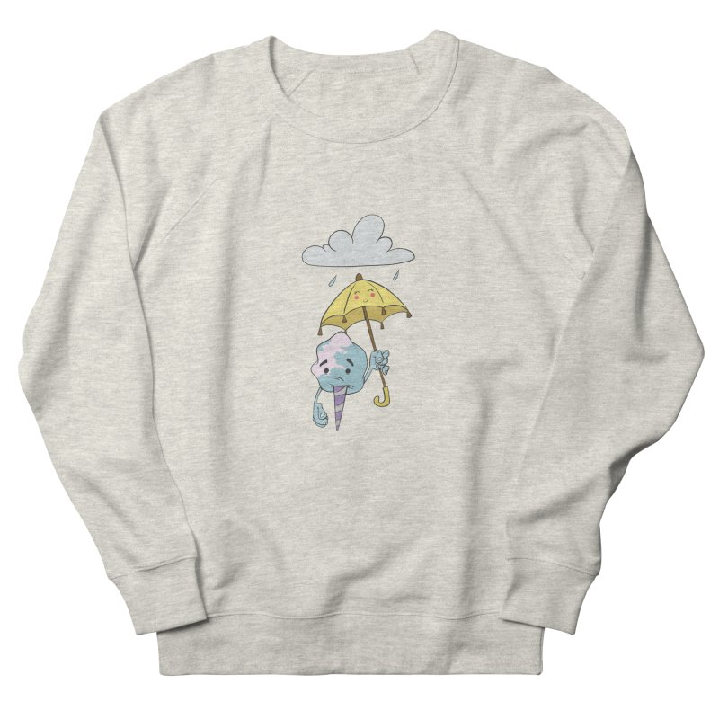 Rainy Day Cotton Candy Women's French Terry Sweatshirt by Coconut Justice's Artist Shop