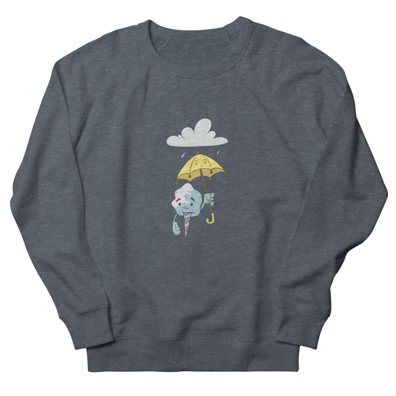 Rainy Day Cotton Candy Men's French Terry Sweatshirt by Coconut Justice's Artist Shop