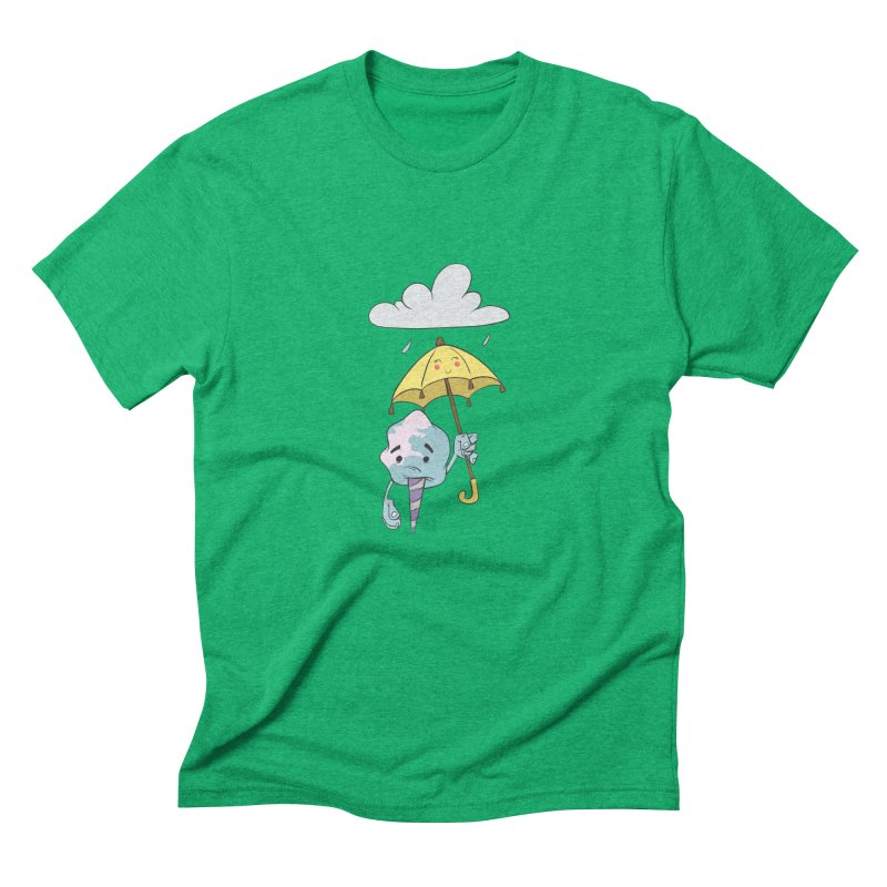 Rainy Day Cotton Candy Men's Triblend T-Shirt by Coconut Justice's Artist Shop