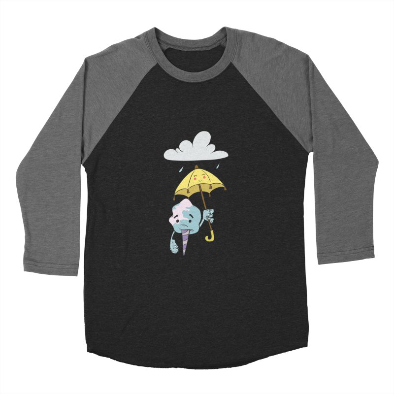 Rainy Day Cotton Candy Men's Baseball Triblend Longsleeve T-Shirt by Coconut Justice's Artist Shop