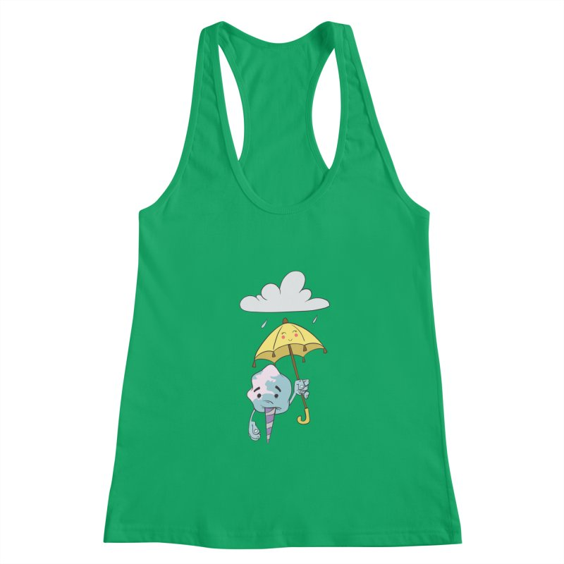 Rainy Day Cotton Candy Women's Tank by Coconut Justice's Artist Shop