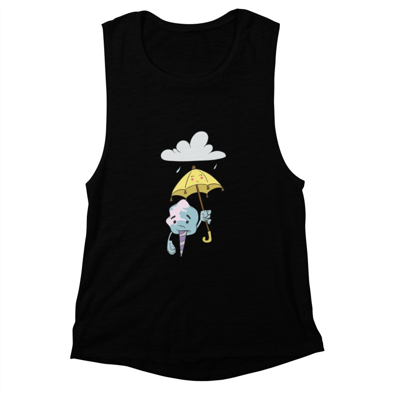 Rainy Day Cotton Candy Women's Muscle Tank by Coconut Justice's Artist Shop