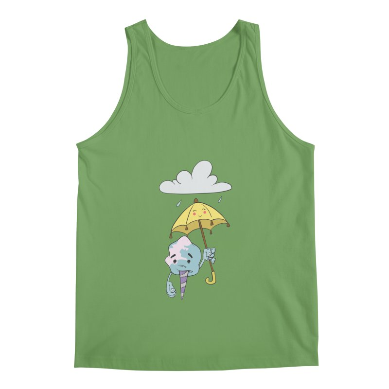 Rainy Day Cotton Candy Men's Tank by Coconut Justice's Artist Shop