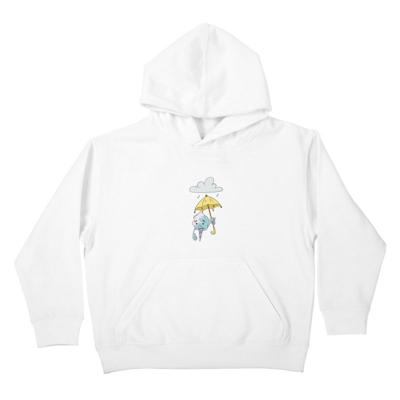 Rainy Day Cotton Candy Kids Pullover Hoody by Coconut Justice's Artist Shop