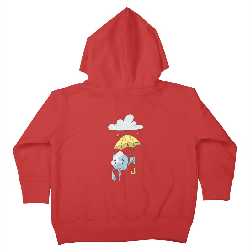 Rainy Day Cotton Candy Kids Toddler Zip-Up Hoody by Coconut Justice's Artist Shop