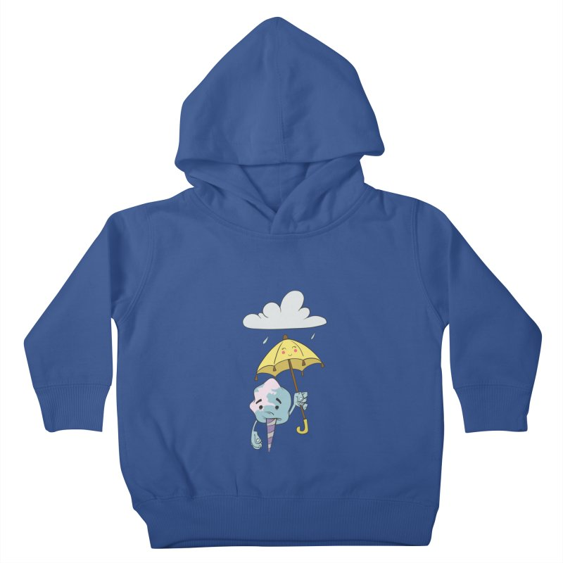 Rainy Day Cotton Candy Kids Toddler Pullover Hoody by Coconut Justice's Artist Shop