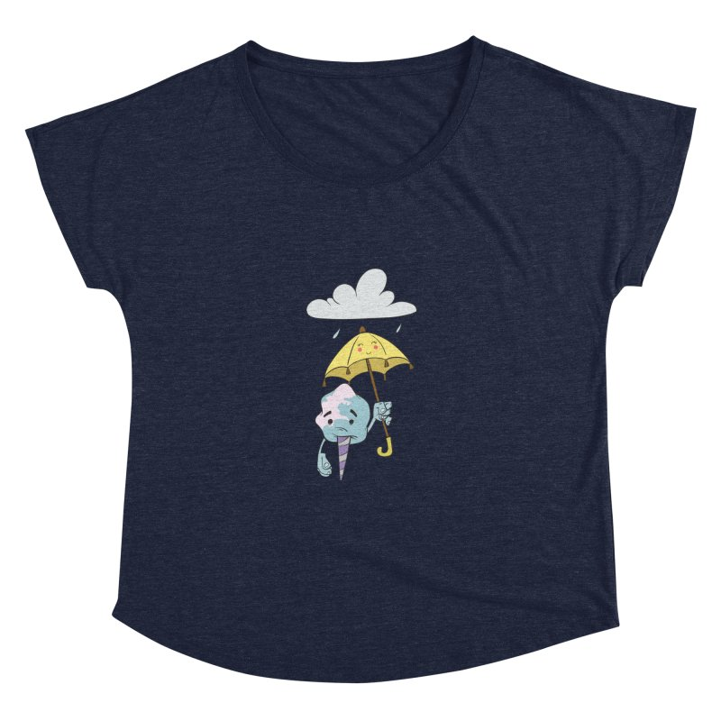 Rainy Day Cotton Candy Women's Dolman Scoop Neck by Coconut Justice's Artist Shop