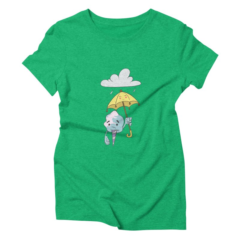 Rainy Day Cotton Candy Women's Triblend T-Shirt by Coconut Justice's Artist Shop