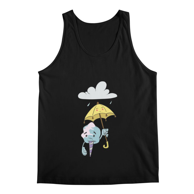 Rainy Day Cotton Candy Men's Regular Tank by Coconut Justice's Artist Shop