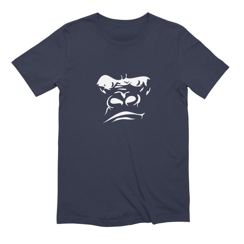 Gorilla Face Men's Extra Soft T-Shirt by Coconut Justice's Artist Shop