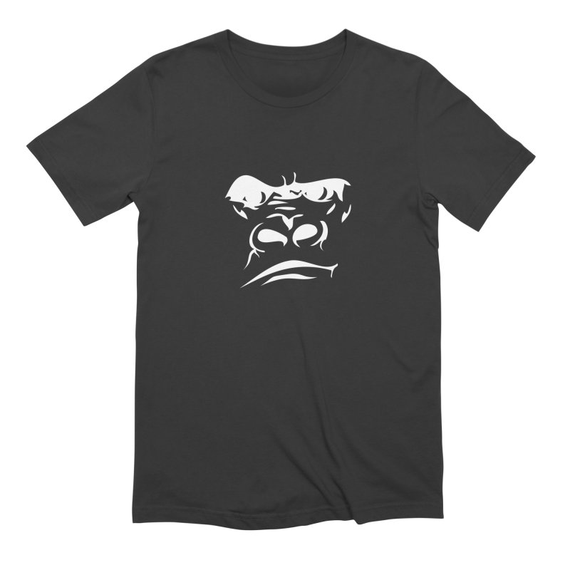 Gorilla Face Men's Extra Soft T-Shirt by Coconut Justice's Artist Shop