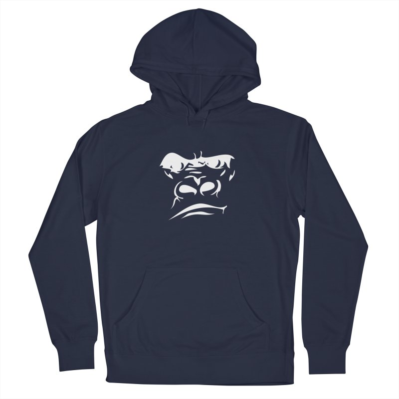 Gorilla Face Men's Pullover Hoody by Coconut Justice's Artist Shop