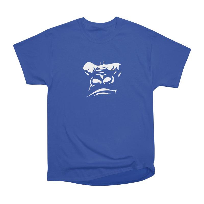 Gorilla Face Men's Heavyweight T-Shirt by Coconut Justice's Artist Shop