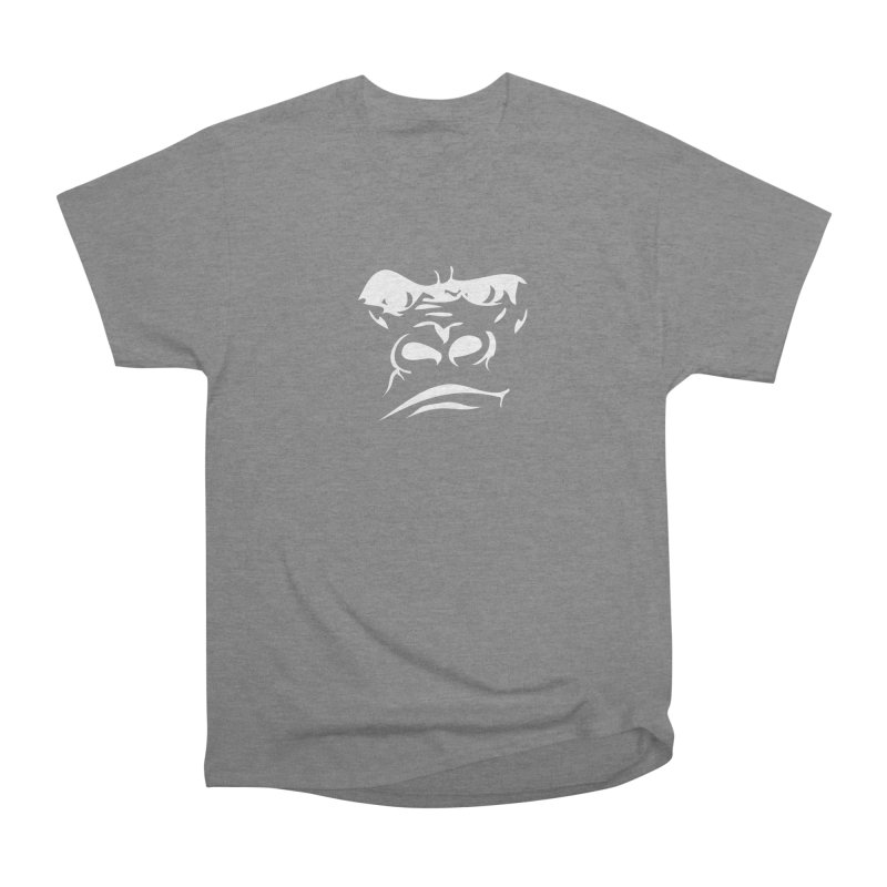 Gorilla Face Women's Heavyweight Unisex T-Shirt by Coconut Justice's Artist Shop