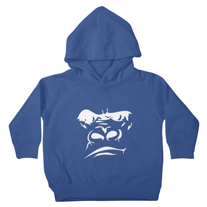 Gorilla Face Kids Toddler Pullover Hoody by Coconut Justice's Artist Shop