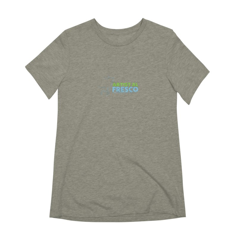 Artist Al Fresco Logo Women's Extra Soft T-Shirt by Coconut Justice's Artist Shop