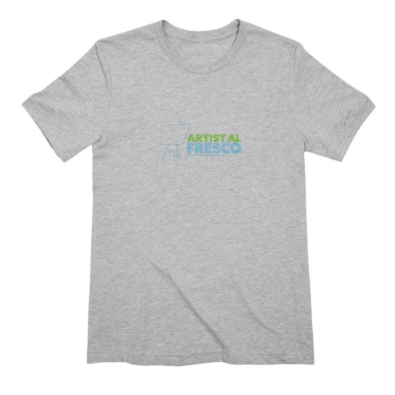 Artist Al Fresco Logo Men's Extra Soft T-Shirt by Coconut Justice's Artist Shop
