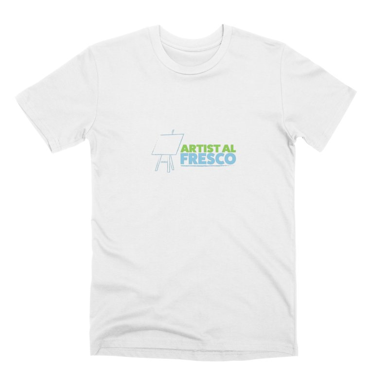 Artist Al Fresco Logo Men's Premium T-Shirt by Coconut Justice's Artist Shop