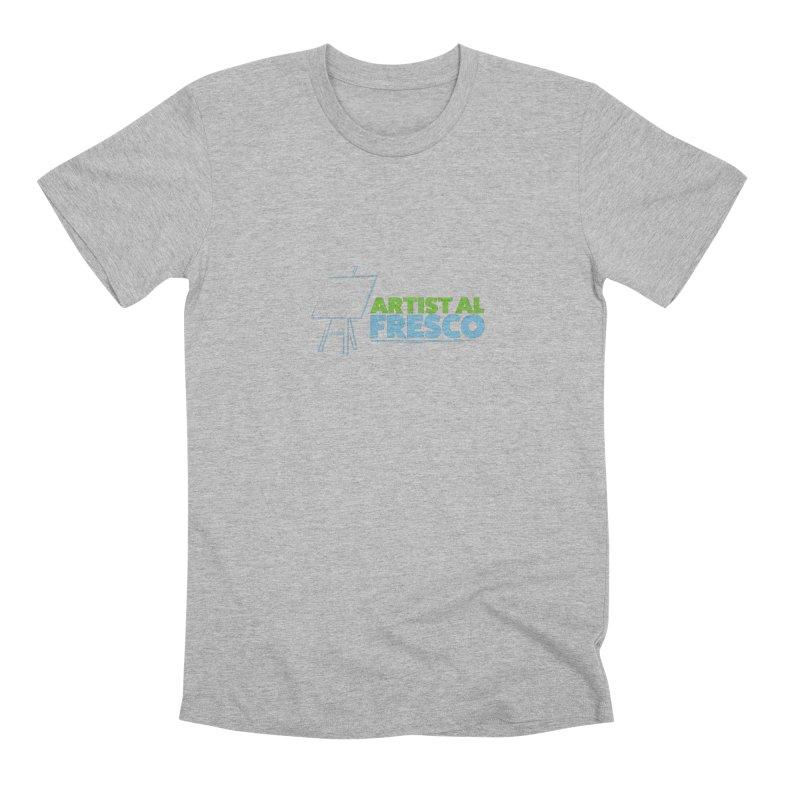 Artist Al Fresco Logo Men's Premium T-Shirt by Coconut Justice's Artist Shop