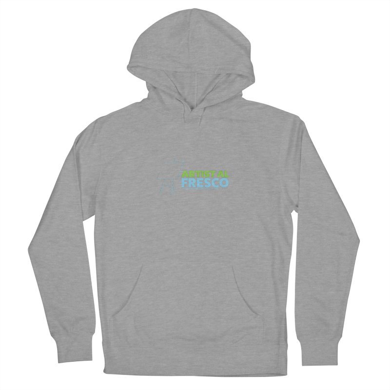 Artist Al Fresco Logo Women's French Terry Pullover Hoody by Coconut Justice's Artist Shop