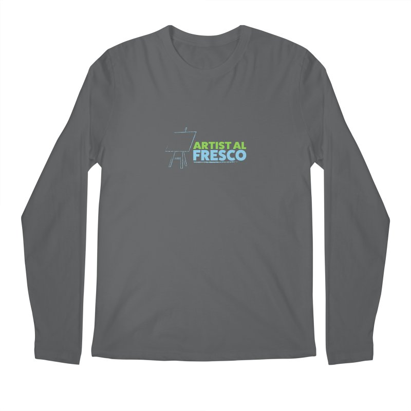 Artist Al Fresco Logo Men's Longsleeve T-Shirt by Coconut Justice's Artist Shop
