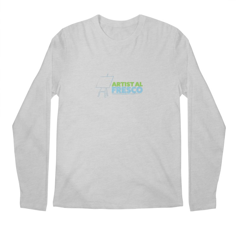 Artist Al Fresco Logo Men's Regular Longsleeve T-Shirt by Coconut Justice's Artist Shop