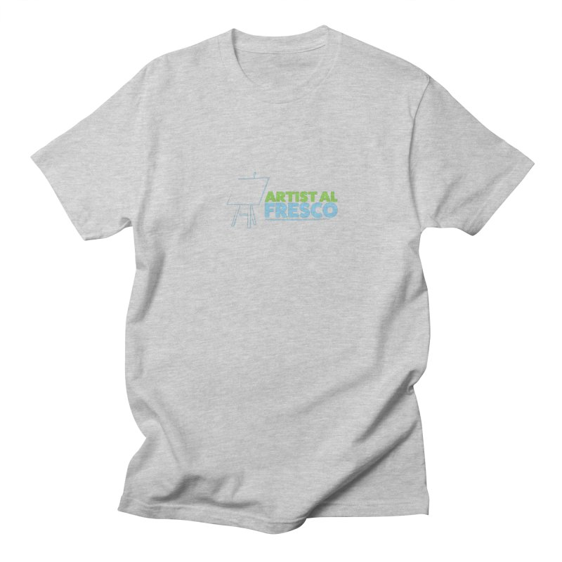 Artist Al Fresco Logo Men's T-Shirt by Coconut Justice's Artist Shop