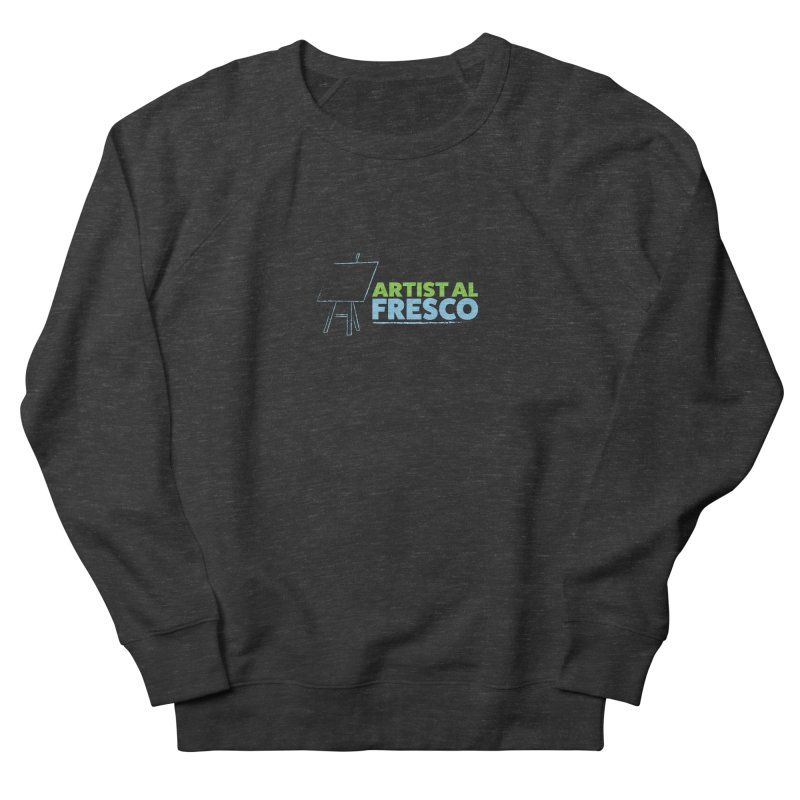Artist Al Fresco Logo Women's French Terry Sweatshirt by Coconut Justice's Artist Shop