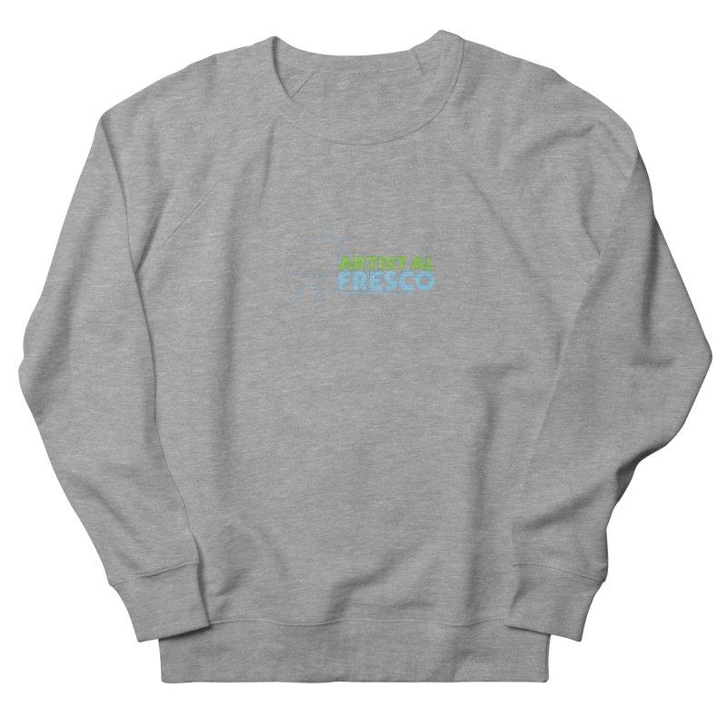 Artist Al Fresco Logo Men's French Terry Sweatshirt by Coconut Justice's Artist Shop