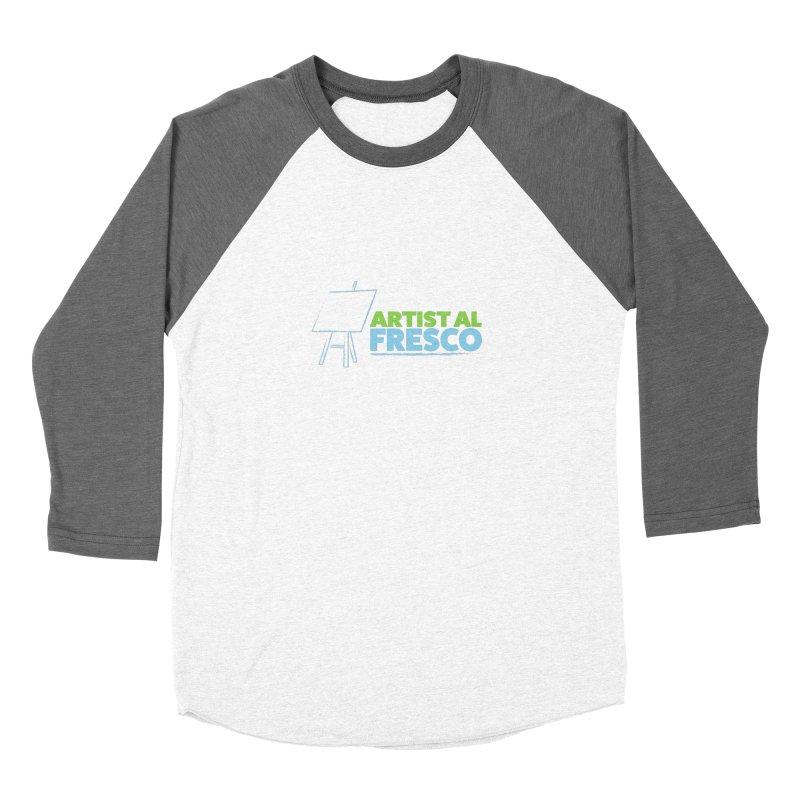 Artist Al Fresco Logo Women's Baseball Triblend Longsleeve T-Shirt by Coconut Justice's Artist Shop