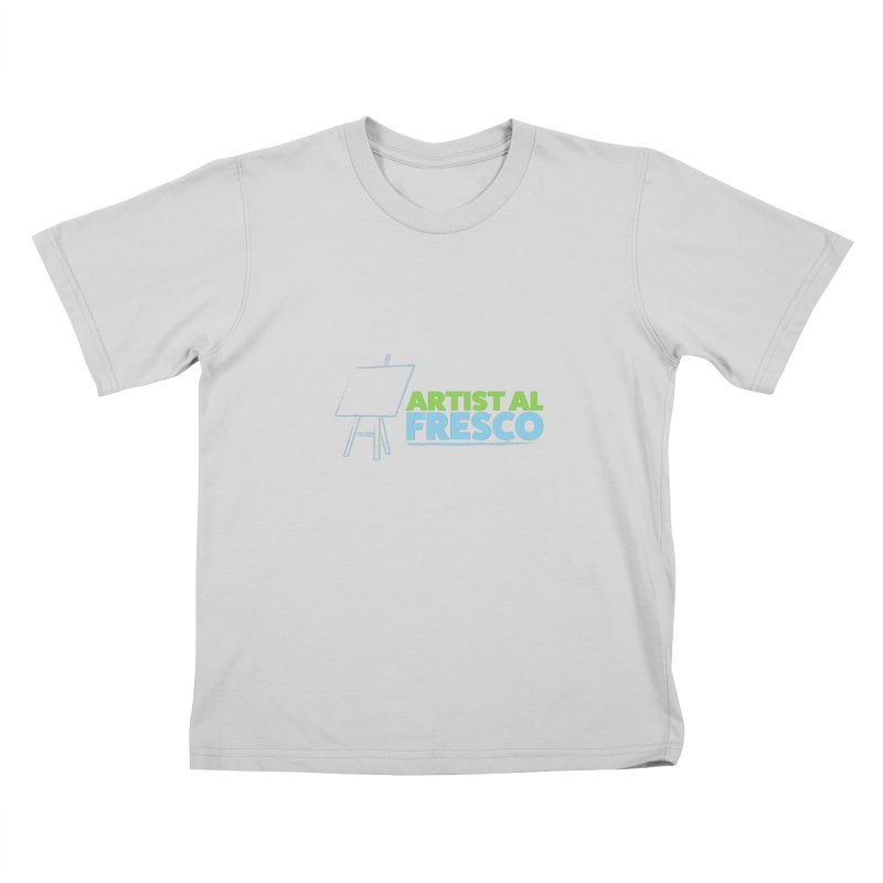 Artist Al Fresco Logo Kids T-Shirt by Coconut Justice's Artist Shop