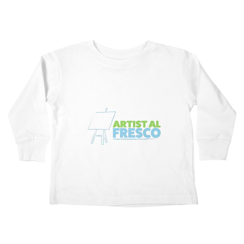 Artist Al Fresco Logo Kids Toddler Longsleeve T-Shirt by Coconut Justice's Artist Shop