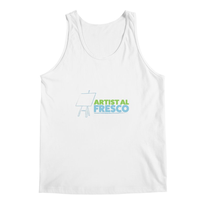 Artist Al Fresco Logo Men's Regular Tank by Coconut Justice's Artist Shop