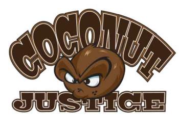 Coconut Justice's Artist Shop Logo