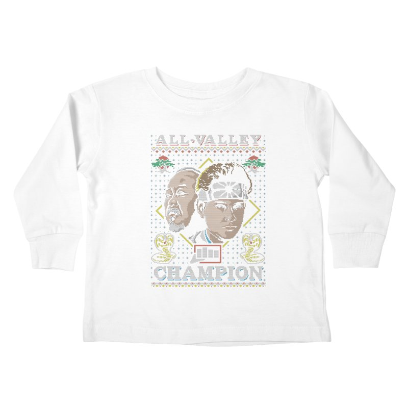 The Best Around Kids Toddler Longsleeve T-Shirt by coddesigns's Artist Shop