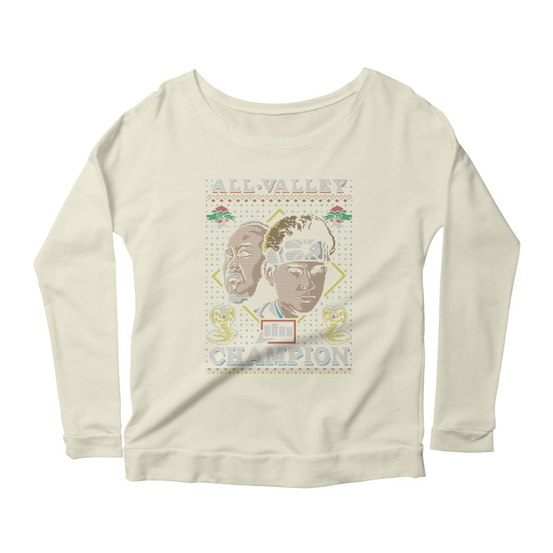The Best Around Women's Longsleeve Scoopneck  by coddesigns's Artist Shop