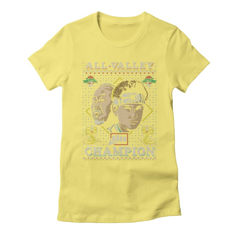The Best Around Women's Fitted T-Shirt by coddesigns's Artist Shop