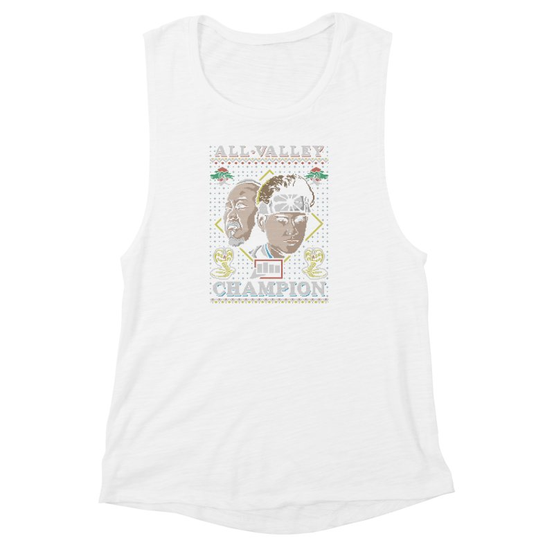 The Best Around Women's Muscle Tank by coddesigns's Artist Shop