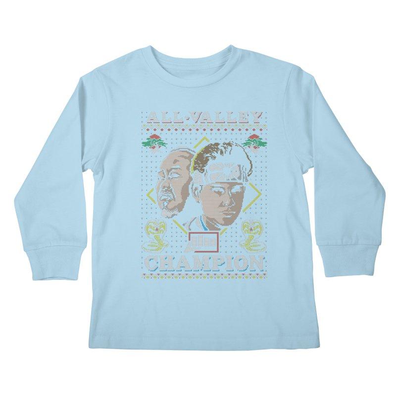 The Best Around Kids Longsleeve T-Shirt by coddesigns's Artist Shop