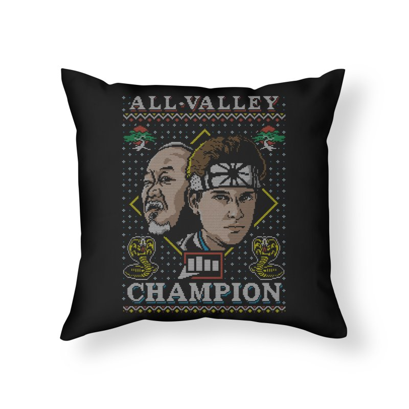 The Best Around Home Throw Pillow by coddesigns's Artist Shop