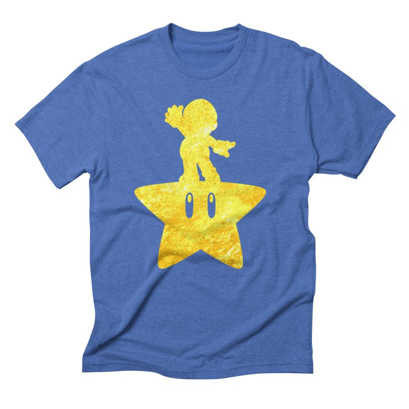 Young Scrappy Plumber Men's Triblend T-shirt by coddesigns's Artist Shop
