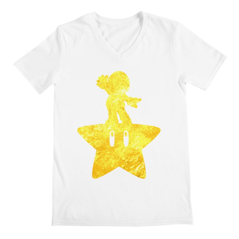 Young Scrappy Plumber Men's V-Neck by coddesigns's Artist Shop