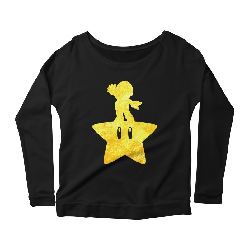 Young Scrappy Plumber Women's Longsleeve Scoopneck  by coddesigns's Artist Shop