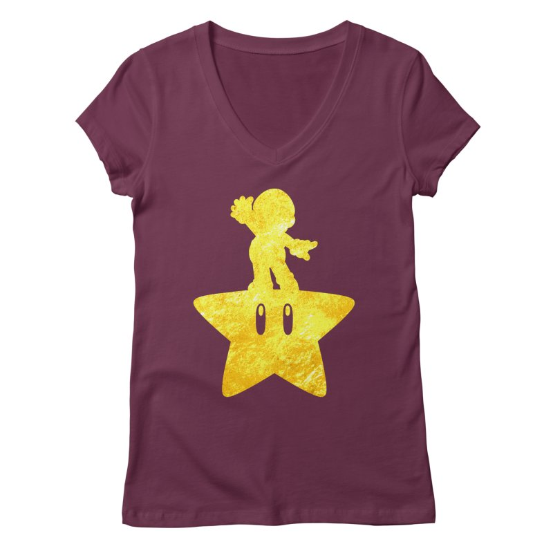 Young Scrappy Plumber Women's V-Neck by coddesigns's Artist Shop