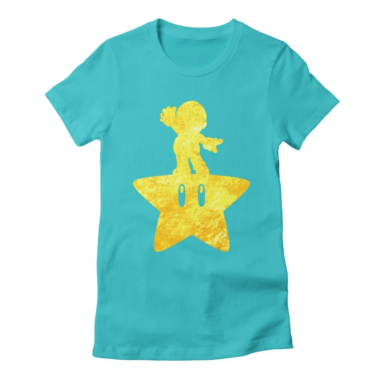 Young Scrappy Plumber Women's Fitted T-Shirt by coddesigns's Artist Shop