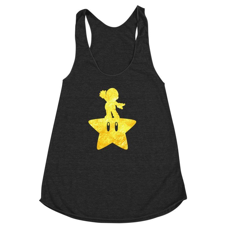 Young Scrappy Plumber Women's Racerback Triblend Tank by coddesigns's Artist Shop